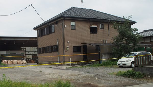 印西市岩戸で住宅火災 2016年7月18日追記